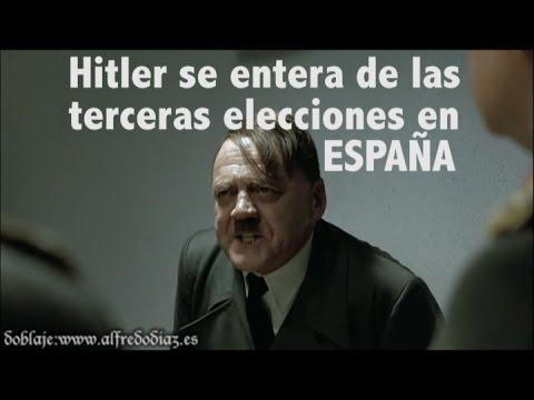 Hitler se entera de las terceras elecciones en España