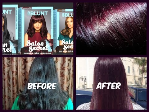 588cd53ebc8 HOW TO USE BBLUNT Salon Secret High Shine Crème Hair Colour