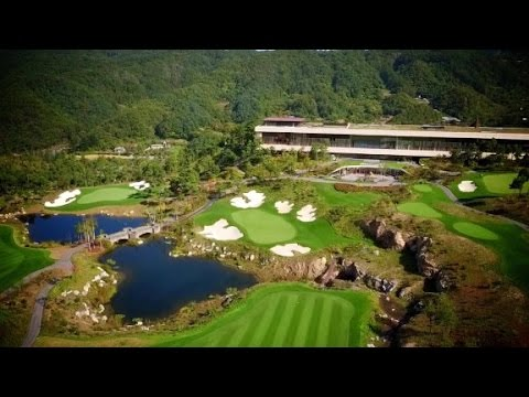 South Korea's grandest golf courses