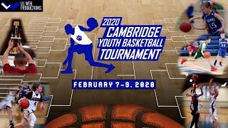 2020 Cambridge Youth Basketball Tournament Highlight
