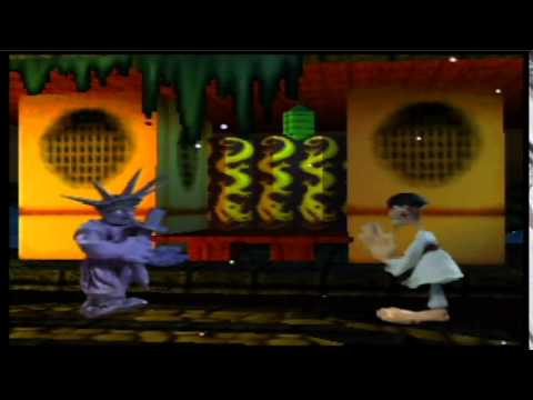 Clay Fighter 63 1/3 Sculptor's Cut (N64): Lady Liberty PT