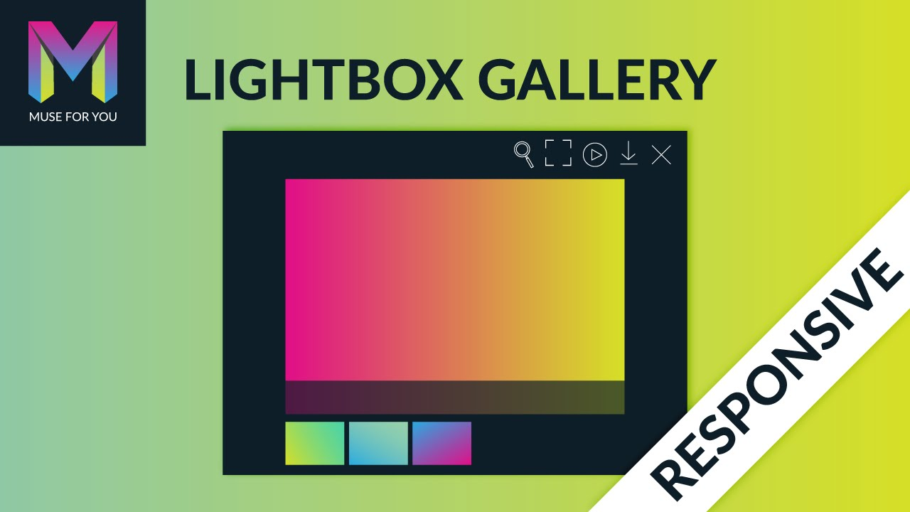 Responsive Lightbox Gallery Widget | Adobe Muse CC | Muse For You