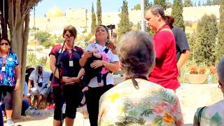 The Isaacs Israel - In The Garden Hymn @ the Garden of Gethsemane