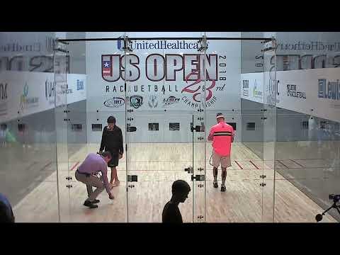 2018 US Open: Final: K. Waselenchuk vs. D. De La Rosa