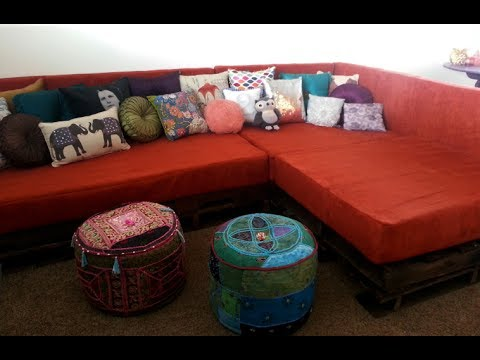 DIY Sectional Sofa For A Resilient Person