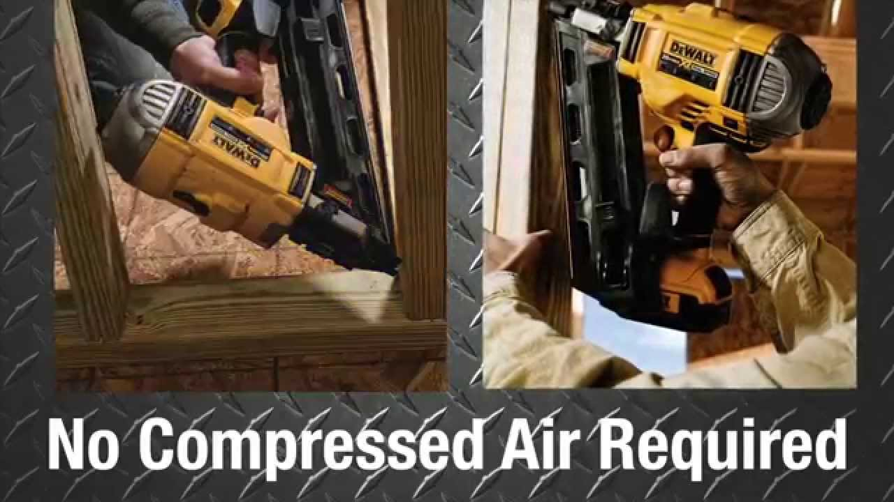 dewalt 20v brushless framing nailer the home depot