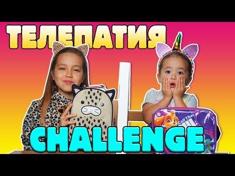 УГАДАЙ Что возьмём в ШКОЛУ Телепатия Челлендж TElEPARTY Challenge