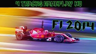 F1 2014 Gameplay 4 Tracks PC HD
