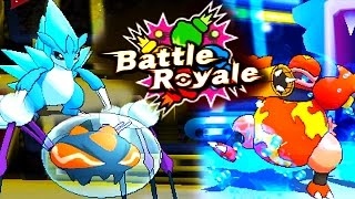 WAS EIN KNAPPER KAMPF! | POKÉMON SONNE UND MOND BATTLE ROYALE!