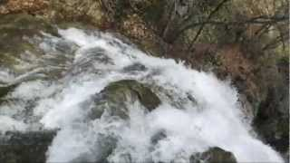 Крым , водопад Джур-Джур .