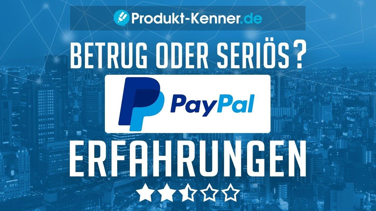 Paypal Erfahrungen