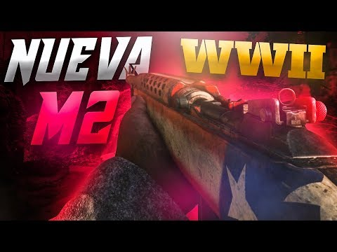 ESPECTACULAR | NUEVA CARABINA M2 EN CALL OF DUTY: WW2