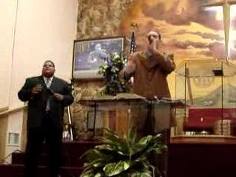 Fosforito singing in Christian Missionary Church Part 1