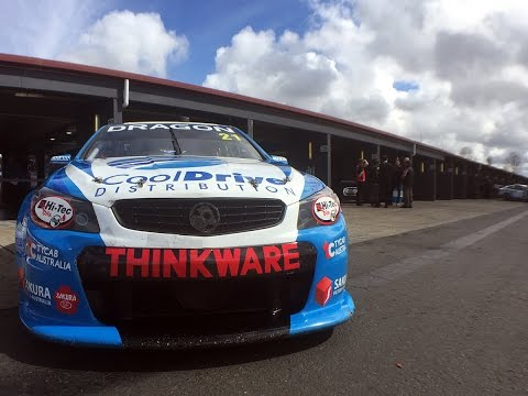 V8 Supercar Hotlaps With The Thinkware F50 Dash Cam And Tim Blanchard