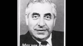 Max van Praag   Zilveren draden tussen het goud1953