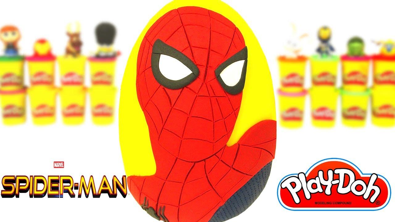 Huevo Sorpresa Gigante de Spider Man De Regreso a Casa en Espaol