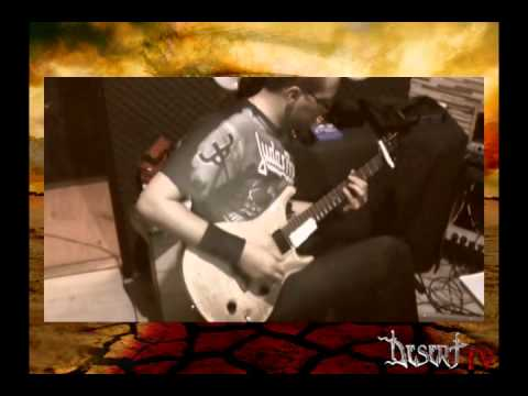 Desert - Studio Diary Pt.2 - Guitars Recording Session 2014