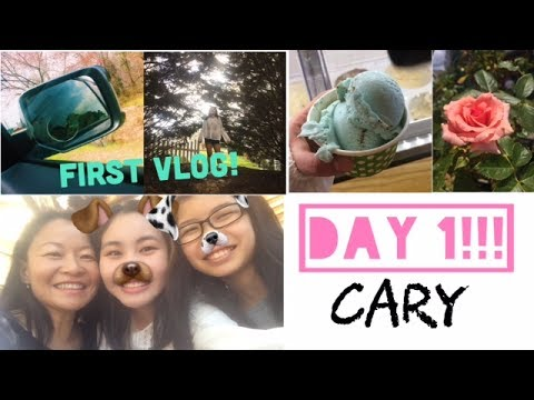 Vlog Day 1- Downtown Cary, NC