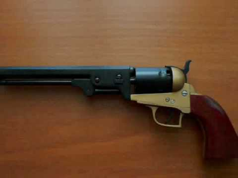 Colt Navy Replica Made Of Wood Youtube