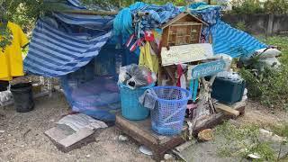 Как живут нищие в Паттайе Или он не нищий а просто любит вести такой образ жизни