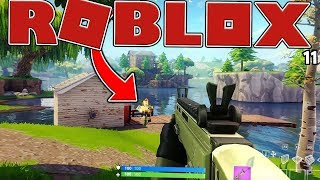 THE MOST REALISTIC ROBLOX FORTNITE BATTLE ROYALE (Island Royale)