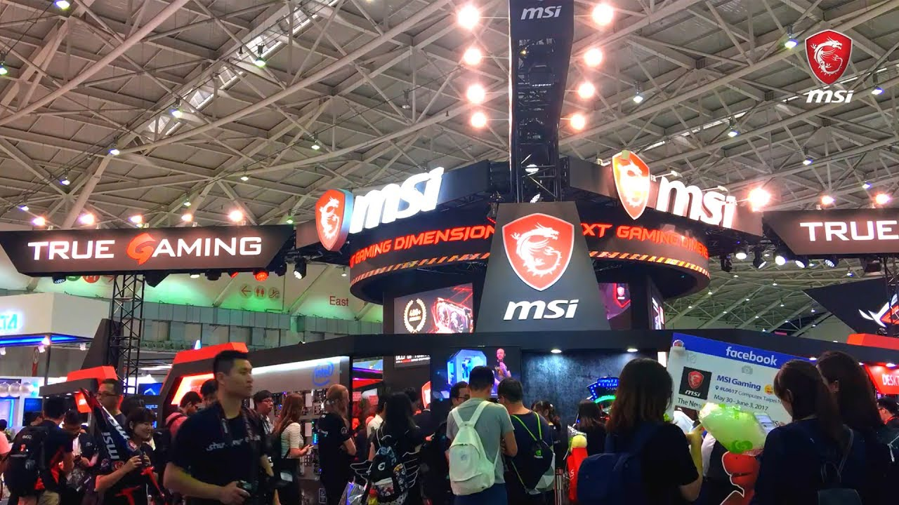 Live from COMPUTEX 2017: MSI Promises the Next Gaming Dimension