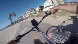 27 Mile Fully Electric Wave eBike Ride Manhattan Beach to Santa Monica and Back