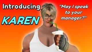 Fortnite - NEW SKIN (Karen) Fortnite x Major Lazer MEME