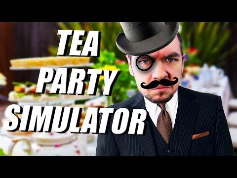 IRISH MAN MAKES TEA | Tea Party Simulator 2015