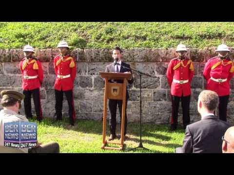 Launch Of Bermuda Regiment's 50th Anniversary, November 17 2014