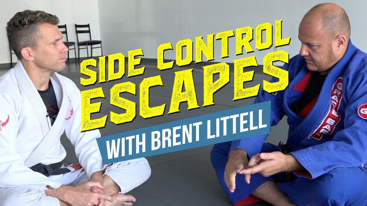 Side Control Escapes with Brent Littell
