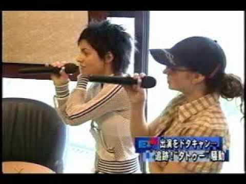t.A.T.u. Karaoke in Japan 06-2003 part 1