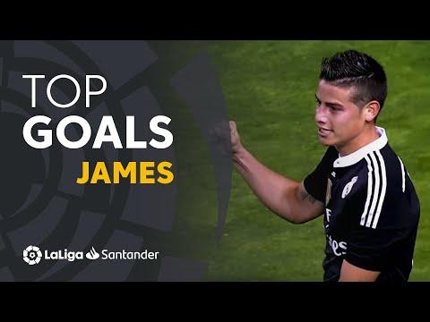 TOP 25 GOALS James Rodríguez en LaLiga Santander