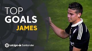 James Rodríguez: Golazos con el Real Madrid en LaLiga Santander