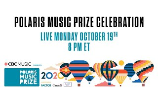 Watch the 2020 Polaris Music Prize Celebration