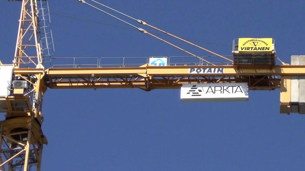Tower crane POTAIN