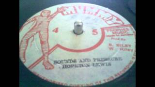 Hopeton Lewis sounds and pressure & Jackie Paris see and blind