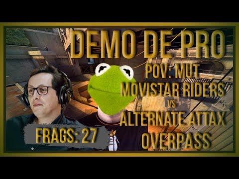 [PT] zorlaK Analisa: PoV MUT - ALTERNATE ATTAX vs MOVISTAR RIDERS - OVERPASS [Demo de Pro]