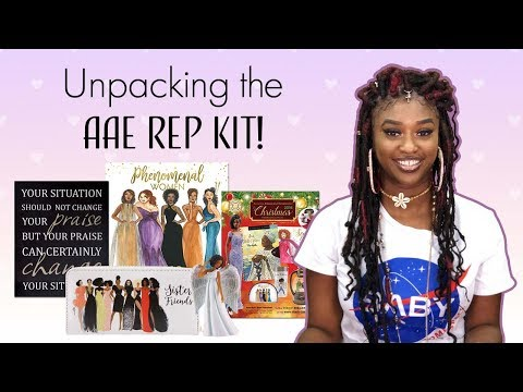 Unpacking The Holiday Rep Kit | Black Gifts | African American Fundraising