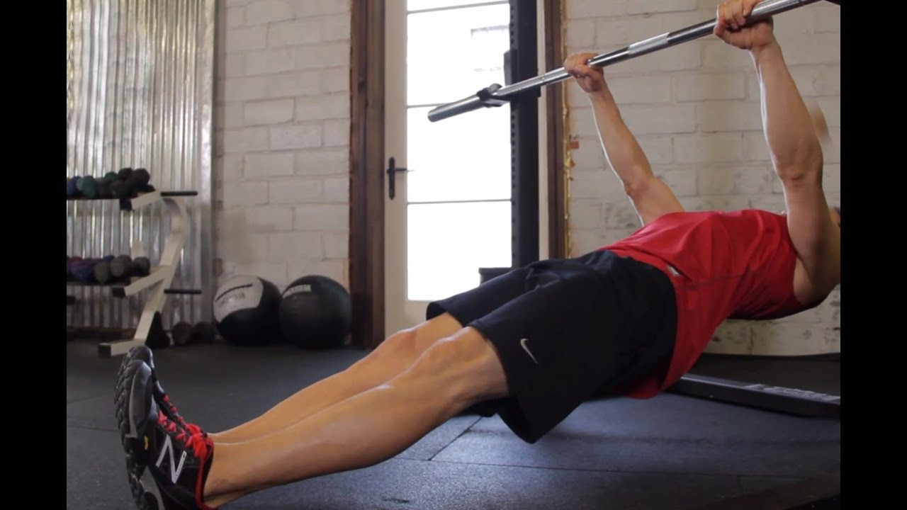 Second fitness how to master inverted rows youtube