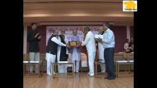 Joravarsinh Jadav gets Zaverchand Meghani Award