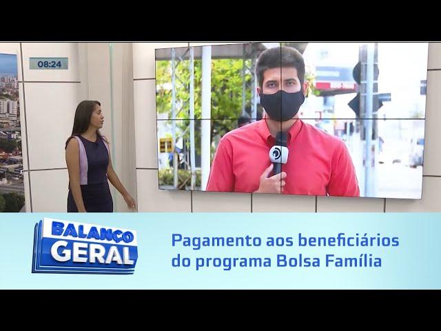 Caixa Econômica inicia pagamento aos beneficiários do programa Bolsa Família