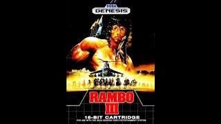 Rambo 3 Playthrough (Sega Genesis)