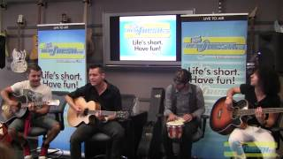 Repeat youtube video Faber Drive- Candy Store (Acoustic) Live at Fresh FM
