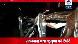 7 people died in an accident near Pari Chowk in Greater Noida late night