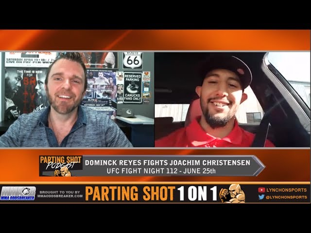 EXCLUSIVE: Dominick Reyes talks UFC debut June 25 against Joachim Christensen