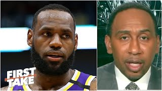 First Take debates how the NBA hiatus will impact LeBron and the Lakers