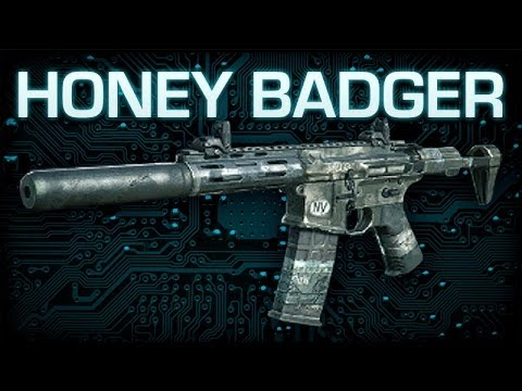 Honey Badger : Call of Duty Ghosts Weapon Guide & Gun ...