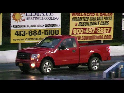 2014 Ford F 150 Stx >> 2014 FORD F-150 5.0 V8 DRAG RACING THE 1/4 MILE - YouTube