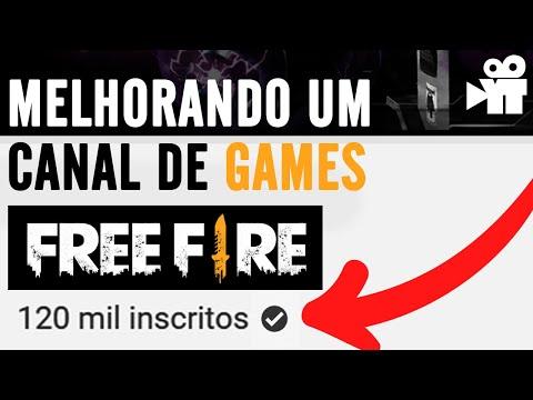 Melhorando canal de games - free fire (Analisando canal)